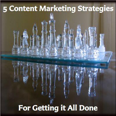 5 Content Marketing Strategies For Getting it All Done  http://www.JenniferHerndon.com