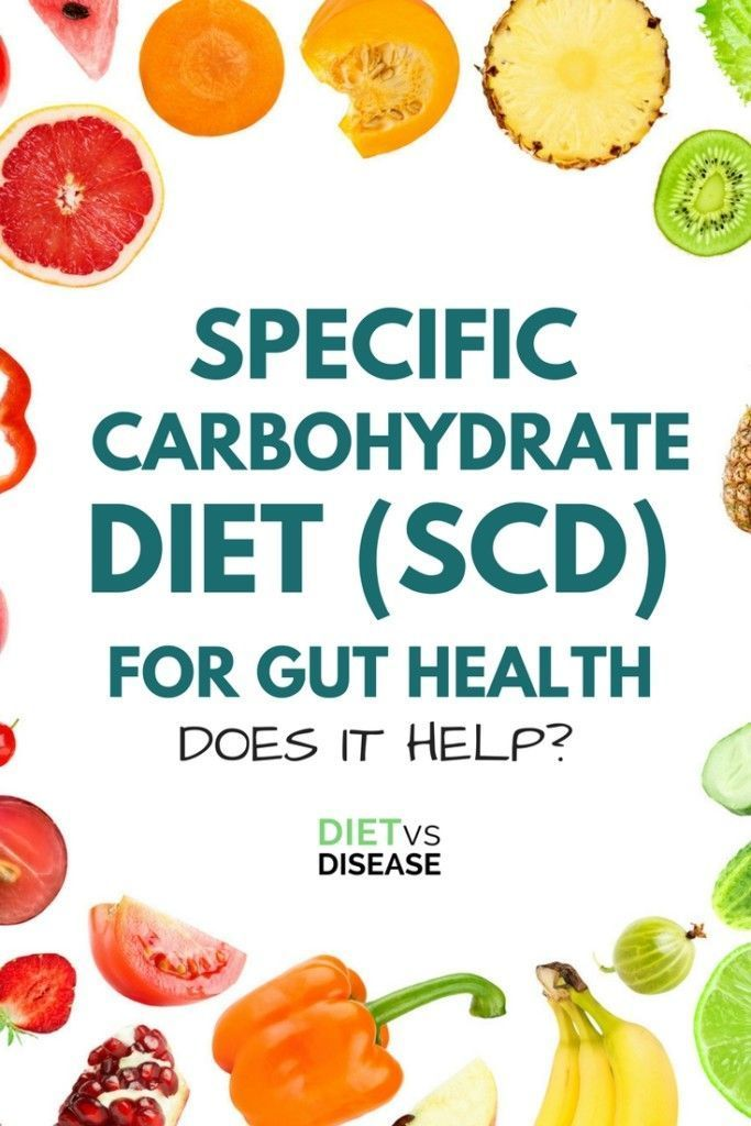 scd diet food reaction