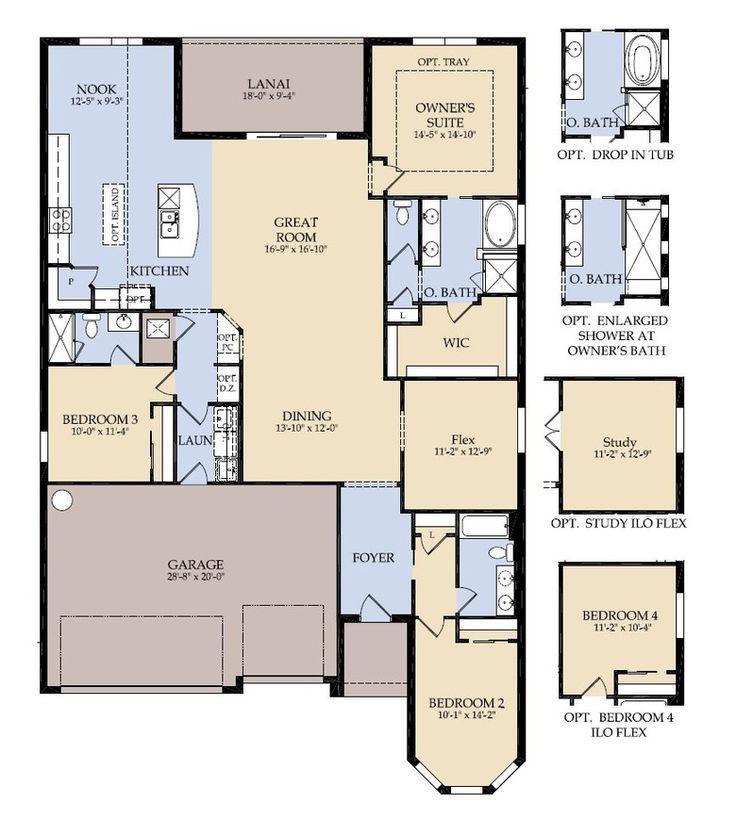 Centex landon floor plan new home floor plans for Landon homes floor plans