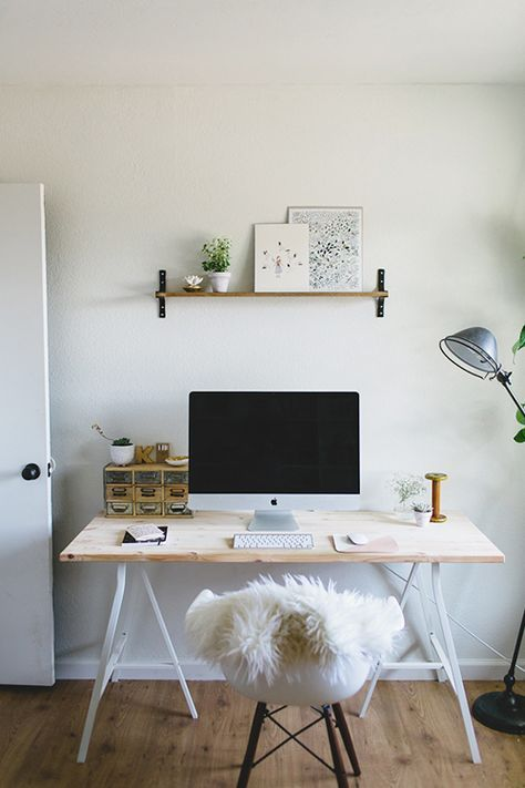 simple home office. Kmart styling inspo