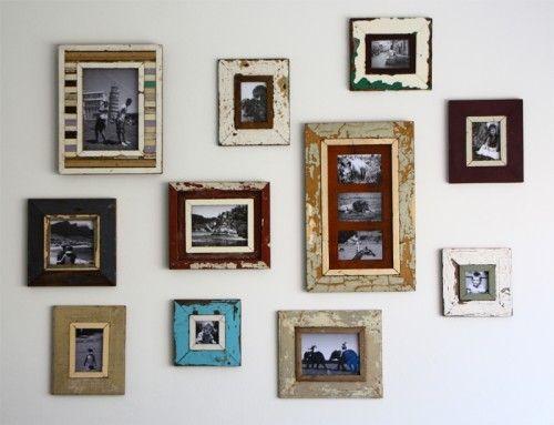 Tutorial voor het maken van je eigen huis decoratie. Deel 1: De foto muur. - Plazilla.com