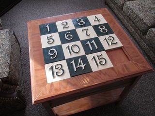 The Sliding Puzzle Secret Compartment Table is an idea that I have been tossing around for some time. I have always enjoyed Puzzles, Woodworking, and Secret...