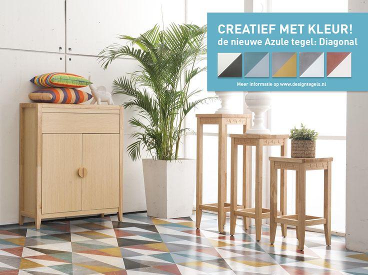 New Paterns! New Designs! New Azule Tiles! www.designtegels.nl, www.designfliesen..de, www.cementtiles.com
