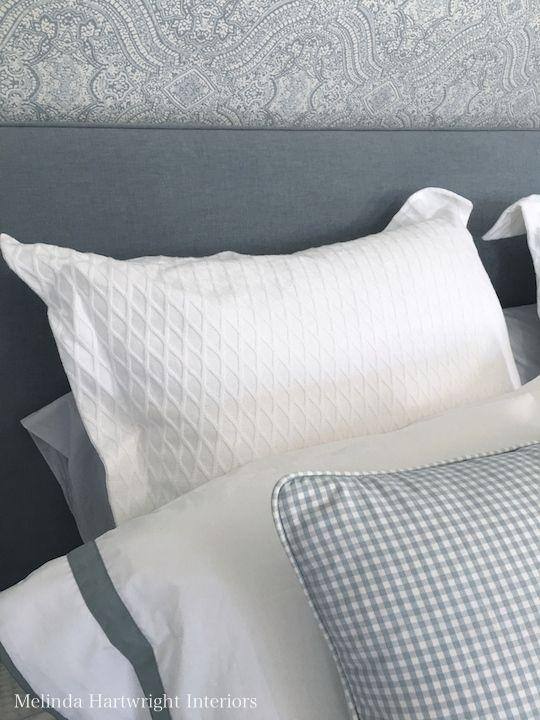 Hampton inspired home with blue and white coastal interiors
