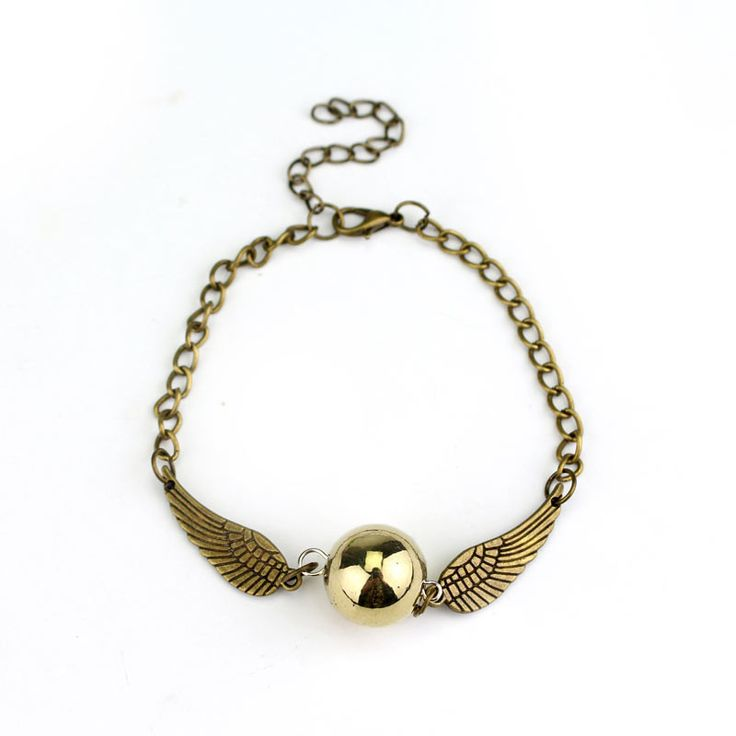 Harry Potter Quidditch Golden Snitch Bracelet