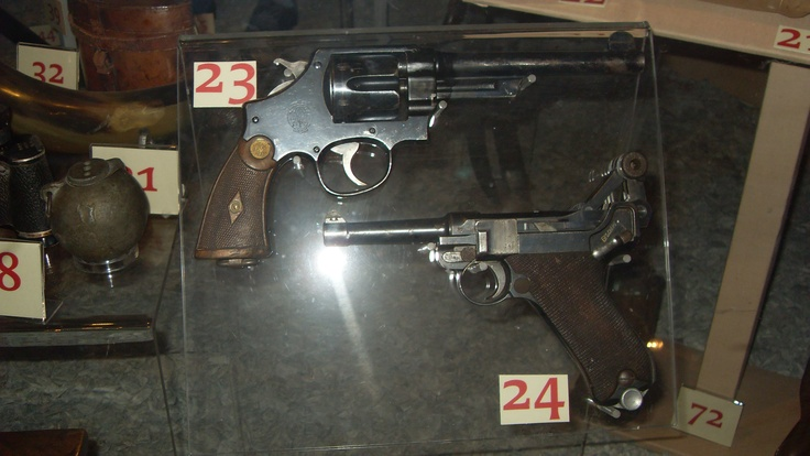 WW2 Weapons at the Discovery Museum in Newcastle-upon-Tyne