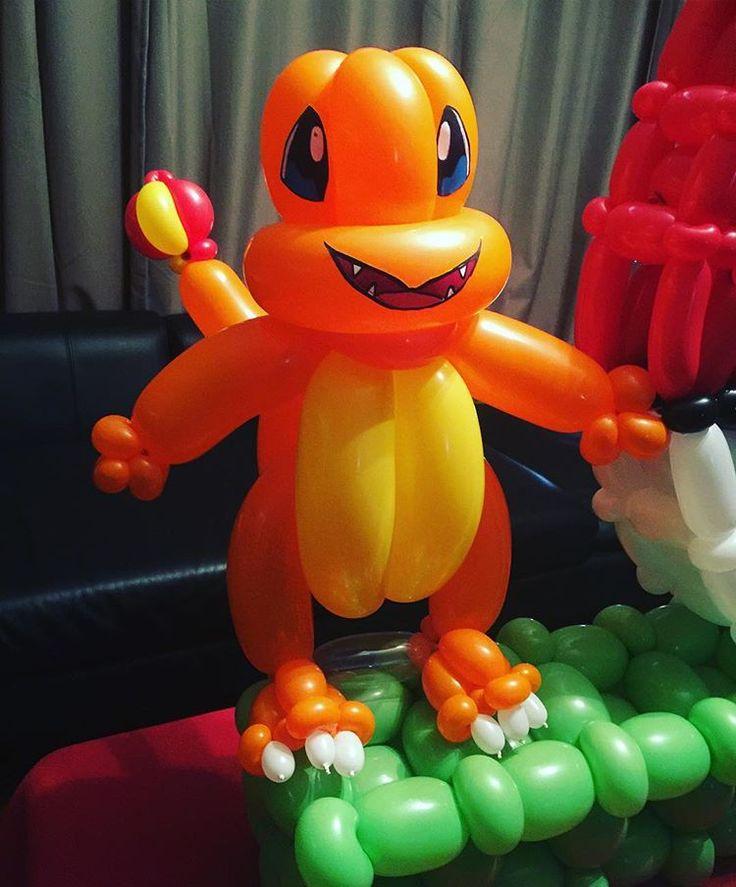 Pokemon charmandar ! #pokemon #pokemongo #charmandar #fire #qualatexballoons #qualatex #balloon #balloon #twisting #sculpture #balloonart #art #by #scottatwist #artist #artwork #twister #twisted #twist