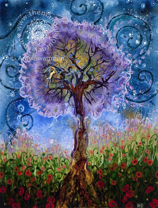 Placenta Print - tree of life