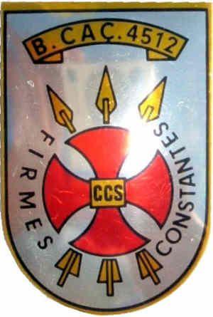 Companhia de Comando e Serviços do Batalhão de Caçadores 4512I72 Guiné