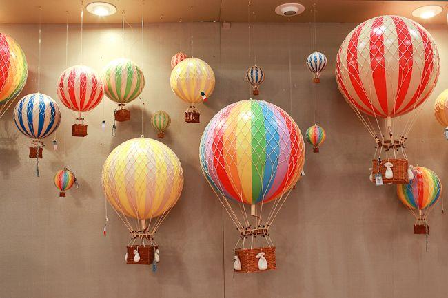 decoração-balão-de-ar-quente-vintage-chá-com-cupcakes