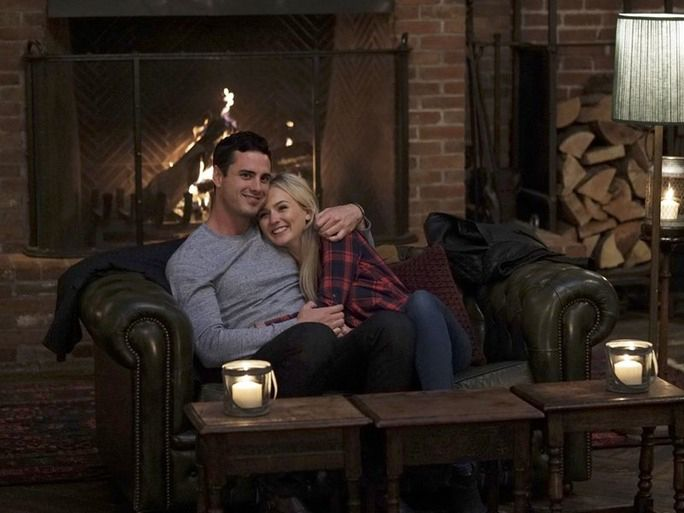 The Bachelor, Ben Higgins with Lauren Bushnell, on hometown date episode