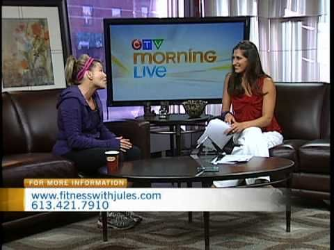 Fitness with Jules on CTV Morning