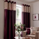 Plum Yasmine Curtain Collection  #pinittowinit #dunelm