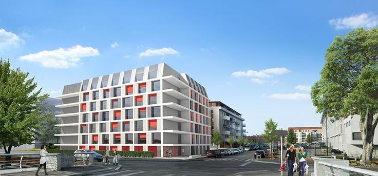 Logement étudiants, découvrez le Programme immobilier neuf à Mulhouse : Le quai