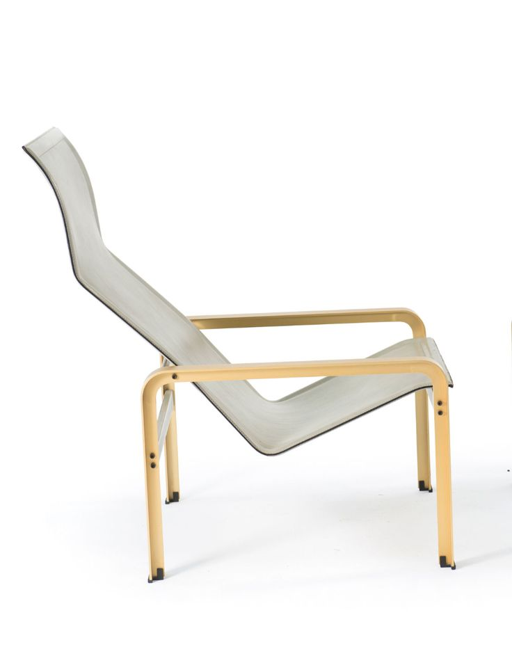 Matteo Grassi; Leather And Anodized Aluminum Lounge Chair, 1980s.