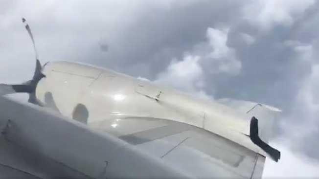 The NOAA Hurricane Hunters flew inside Hurricane Irma's eye.