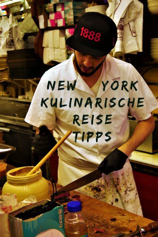 New York Reisetipps USA: Essen wie die New Yorker …