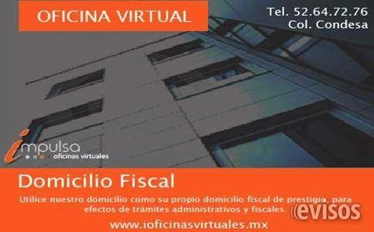 DOMICILIO FISCAL EN LA CONDESA DESDE $ 799 PESOS  Realice todos los trámites administrativos que requiere su empresa.Su plan de domicilio fiscal ...  http://cuauhtemoc-city-2.evisos.com.mx/domicilio-fiscal-en-la-condesa-desde-799-pesos-id-629989