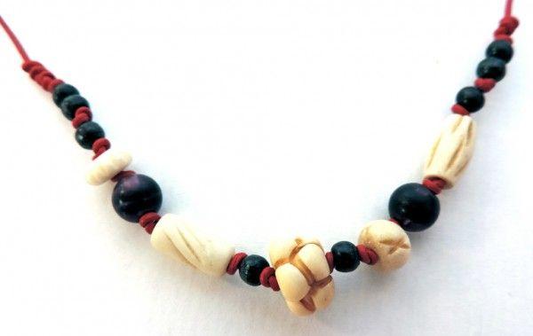 Crepundia with bone beads