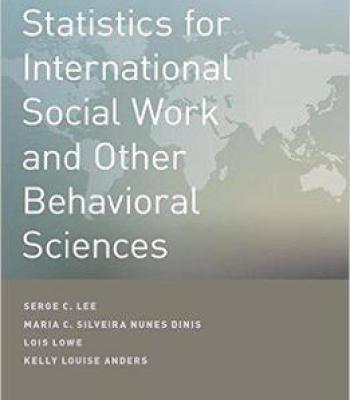 Statistics For International Social Work And Other Behavioral Sciences PDF