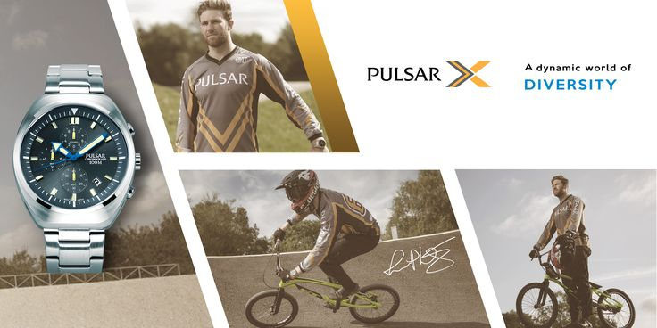 The Pulsar X Collection is designed for action sports and for people who practice them at the highest level. The new styles are striking and conspicuous, embodying the virtues of leading edge design and craftsmanship, especially appealing ta athletes who take performance to beyond the limits of convention.  Pulsar X is proud to collaborate with Liam Phillips, one of the world's top BMX riders, a former World Champion with multiple medals to his name. Liam is a three time Olympian and has…