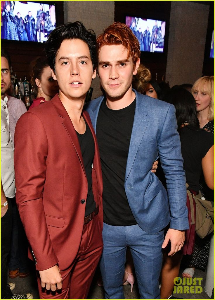 Cole Sprouse and  KJ Apa at Entertainment Weekly's Comic-Con 2017