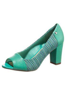 SISANY PEEP TOE - Escarpins à bout ouvert - bleu