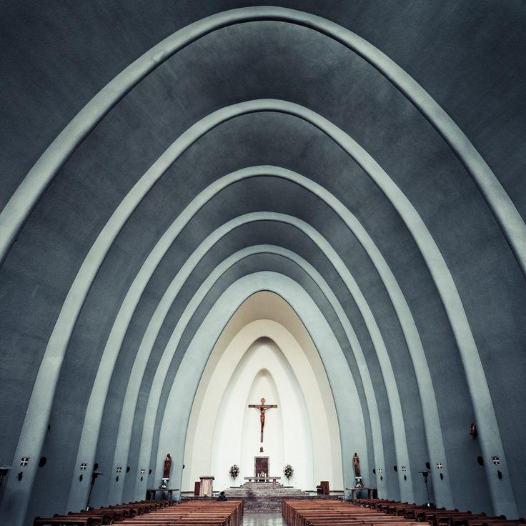 Catedral de Chillán, Chile.