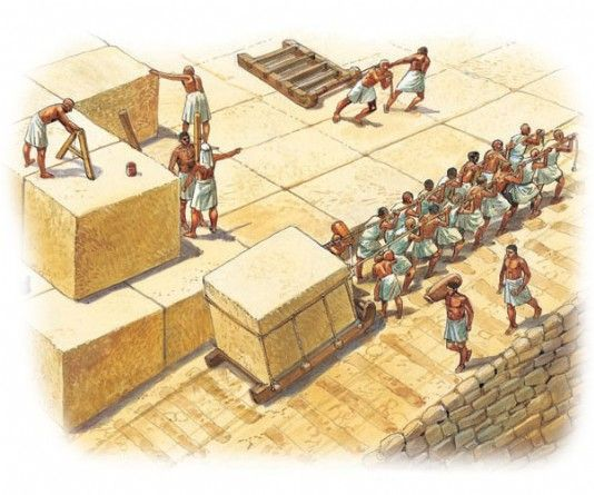 A look at egyptian pyramids and how they were built