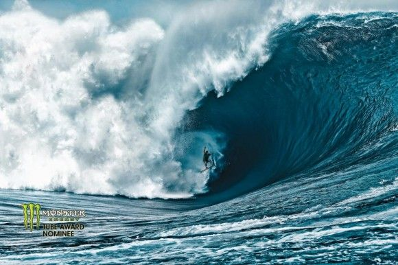 Nathan Fletcher's amazing XXL ride at Teahupo'o. Photo by Brian Bielmann: Tahiti, Surfing Up, Billabong, Nathan Fletcher, Places, Big Waves, The Waves, Brian Bielmann, Surfing Photography