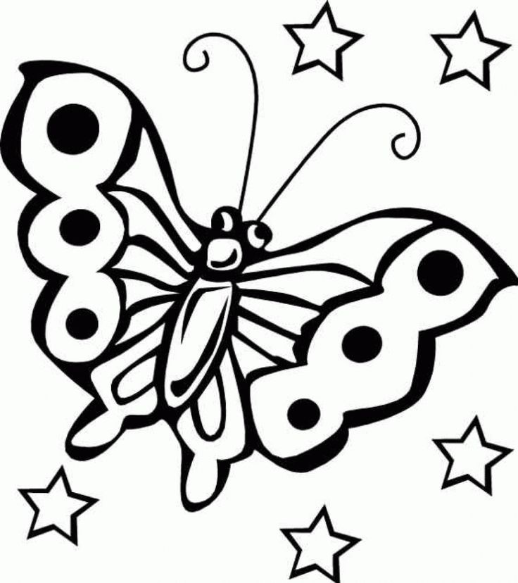 spring coloring pages free butterfly coloring pages for kids