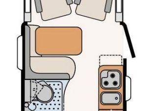 Bild könnte enthalten: Wohnzimmer und Interieur – Vanlife MyBlog7