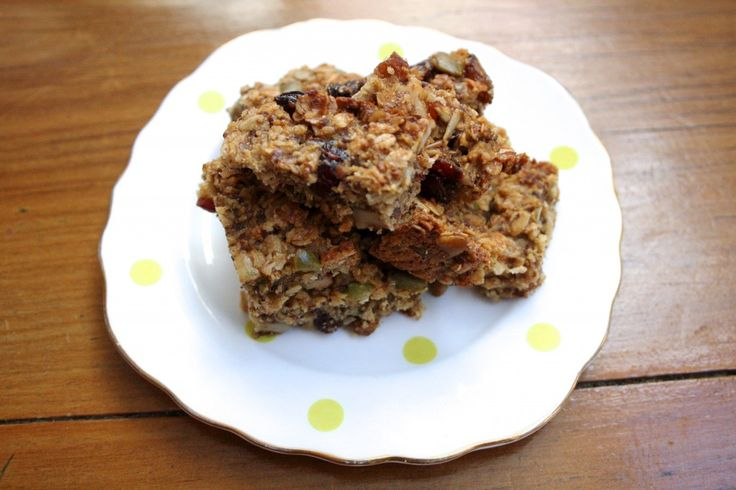 Healthy, homemade muesli bars that are tasty to boot.