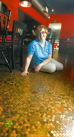 the summit caf in stony mountain owned by nadine dannenberg has a floor made