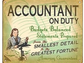 Retro Accounting Advertisement - Still holds true today. Peace of Mind Accounting www.peaceofmindacc.com 970-381-7909
