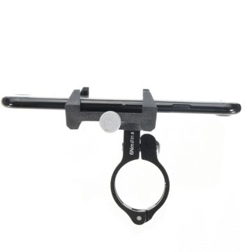 GUB G-86 CNC Bicycle Holder Handbar Clip Stand Mount Bracket for Phone GPS Device Up To 6.2 Inch Sale - Banggood.com