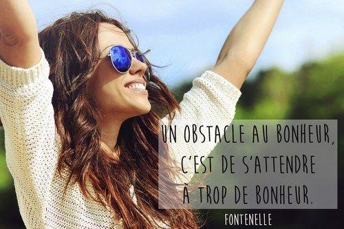 Citation bonheur de Fontenelle