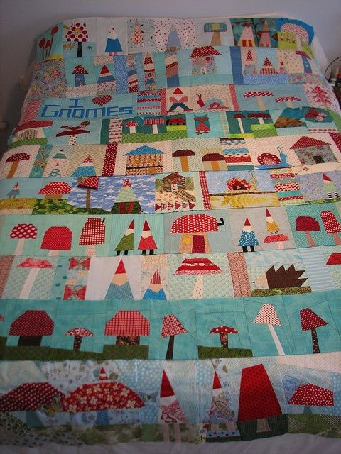 Such a happy quilt!!