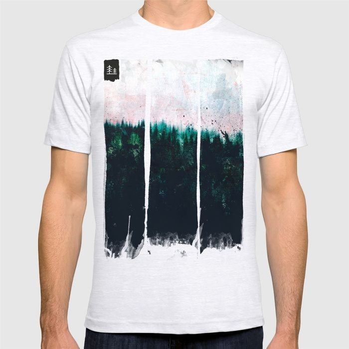 Deep dark forests T-shirt by HappyMelvin | Society6