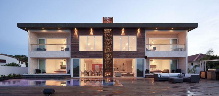 Superbe maison contemporaine entre modernité et tradition sur les îles Turques-et-Caïques, Bella Vita Villa par Prototype Design Lab -  îles Turques et Caïques #construiretendance