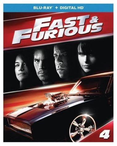 Fast & Furious (Blu-Ray) The Fast and Furious 4