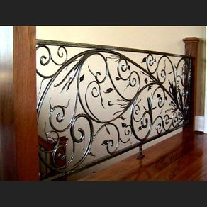 Custom Forged Railing by Thomas Elfers