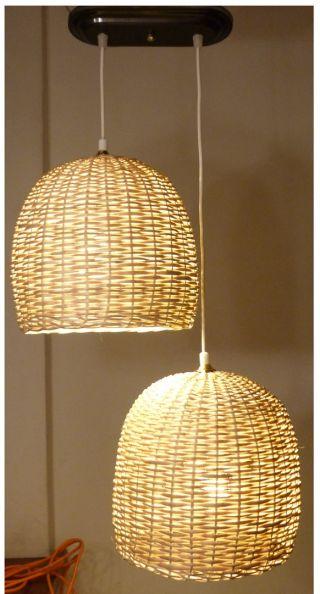 lamparas de mimbre pequeas lamparas buenos aires