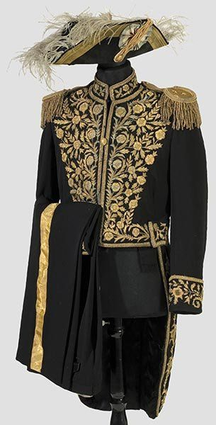 2353: An Iranian diplomatic uniform : Lot 2353