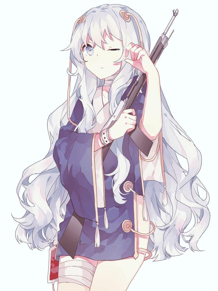 Best 25 manga girl ideas on pinterest manga anime - Anime girl with weapon ...