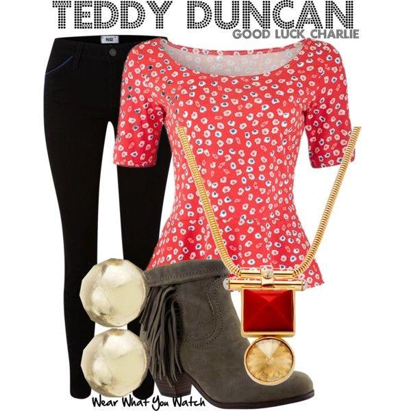 Good Luck Charlie, Teddy Duncan