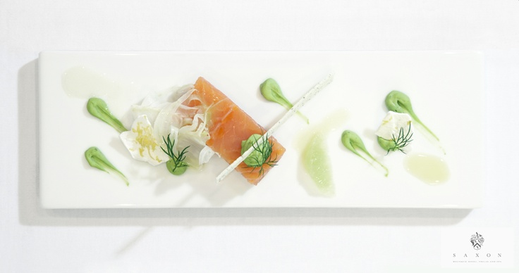 food by Chef David Higgs at the Saxon Boutique Hotel, Villas & Spa, South #Africa