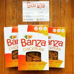 Banza - chickpeas pasta- highly recommend to anyone who loves pasta and is trying to cut back carbs! Delish mixed with homemade tomato sauce, chicken, and low fat mozzarella ! Just like baked ziti.