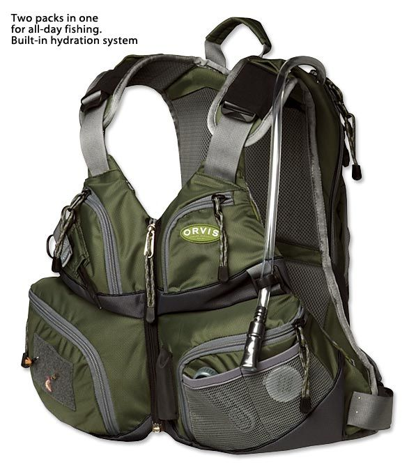 14 best fly fishing images on pinterest backpacks for Kayak fishing vest