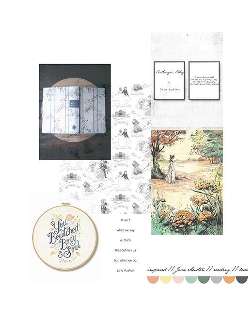 lily&Bloom { inspired#16 . jane austen . reading & love }
